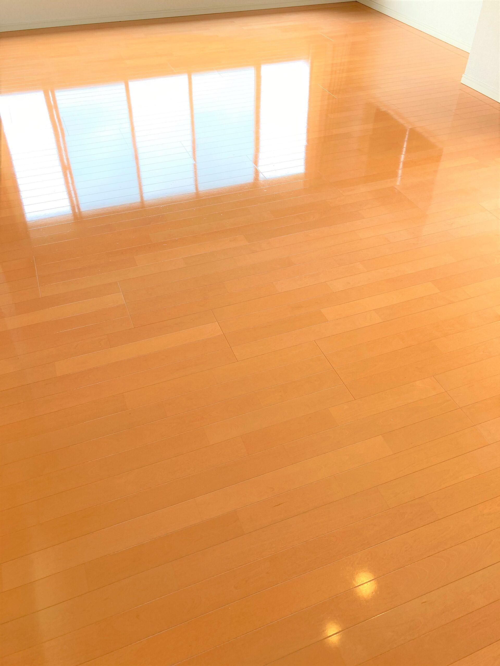 神奈川県藤沢市 T様 ご新築マンション 水性タイプ フロアコーティング After